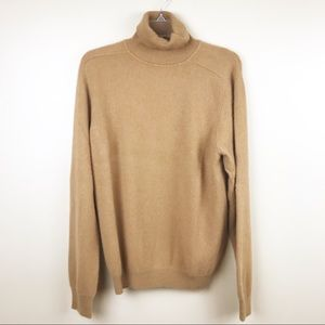 J.crew men's large cashmere turtleneck sweater